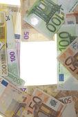 Billetes de euro — Foto de Stock
