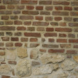Stock Photo: Brick and Rock Wall