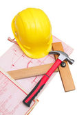 Building a new home... — Stock Photo