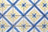 Portuguese glazed tiles 036 — Stock Photo