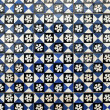 Stock Photo: Portuguese glazed tiles 001