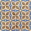 Stock Photo: Portuguese glazed tiles 003