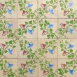 Stock Photo: Portuguese glazed tiles 004