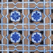 Stock Photo: Portuguese glazed tiles 005