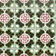Stock Photo: Portuguese glazed tiles 039