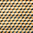 Stock Photo: Portuguese glazed tiles 033