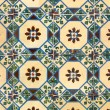 Stock Photo: Portuguese glazed tiles 032