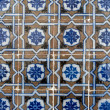 Stock Photo: Portuguese glazed tiles 029