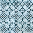 Stock Photo: Portuguese glazed tiles 027