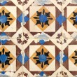 Stock Photo: Portuguese glazed tiles 024