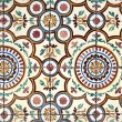 Stock Photo: Portuguese glazed tiles 021