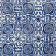 Stock Photo: Portuguese glazed tiles 020