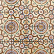 Stock Photo: Portuguese glazed tiles 019