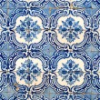 Stock Photo: Portuguese glazed tiles 047