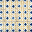Stock Photo: Portuguese glazed tiles 049