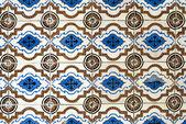 Portuguese glazed tiles 017 — Stock Photo