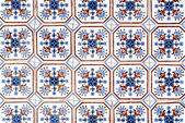 Portuguese glazed tiles 010 — Stock Photo