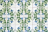 Portuguese glazed tiles 044 — Stock Photo