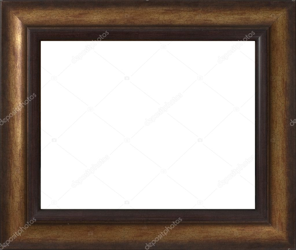 Wooden frame for paintings or photographs.  Stock Photo #2856562