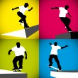 Skater Curb - Stock Vector