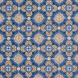 Stock Photo: Portuguese glazed tiles 060