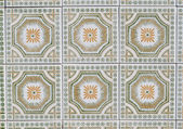 Portuguese glazed tiles 084 — Stock Photo