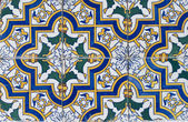 Portuguese glazed tiles 077 — Stock Photo