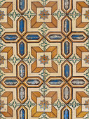 Portuguese glazed tiles 075 — Stock Photo