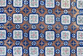 Portuguese glazed tiles 061 — Stock Photo