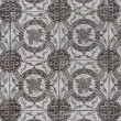 Portuguese glazed tiles 145 - Stockfoto