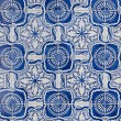 Portuguese glazed tiles 144 - Stockfoto
