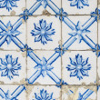 Portuguese glazed tiles 143 - Stockfoto