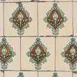Portuguese glazed tiles 137 - Stockfoto