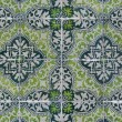 Portuguese glazed tiles 136 - Stockfoto