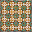 Portuguese glazed tiles 138 - Stockfoto