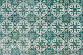 Portuguese glazed tiles 147 — Stock Photo