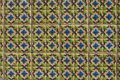 Portuguese glazed tiles 123 — Stock Photo