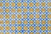 Portuguese glazed tiles 107 — Stock Photo