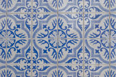 Portuguese glazed tiles 085 — Stock Photo