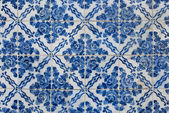 Portuguese glazed tiles 171 — Stock Photo