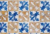 Portuguese glazed tiles 156 — Stock Photo