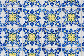 Portuguese glazed tiles 154 — Stock Photo