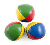 Juggling balls — Stock Photo