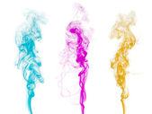 Abstract colorful smoke — Stock Photo