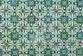 Portuguese glazed tiles 178 — Stock Photo