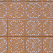 Portuguese glazed tiles 186 — Stock Photo