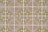 Portuguese glazed tiles 185 — Stock Photo