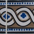 Portuguese glazed tiles 202 — Stock Photo