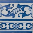 Portuguese glazed tiles 211 — Stock Photo #3305839