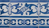Portuguese glazed tiles 211 — Foto de Stock